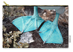 Blue-footed Booby Feet Carry-all Pouch by Ron Sanford