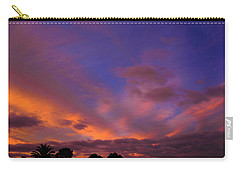 Blue Gold Sunrise Carry-all Pouch by Mark Blauhoefer