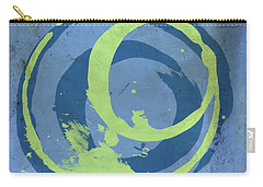Blue Green 7 Carry-all Pouch