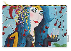 Blue Haired Lady Carry-all Pouch