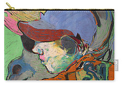 Blue Hat Jockey Carry-all Pouch
