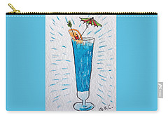 Blue Hawaiian Cocktail Carry-all Pouch by Kathy Marrs Chandler