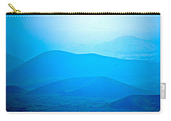 Carry-all Pouch featuring the photograph Blue Hills To Mauna Kea by Lehua Pekelo-Stearns
