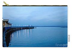Blue Light Horizon Carry-all Pouch by Carol F Austin