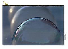 Blue Hour Frozen Bubbles Carry-all Pouch