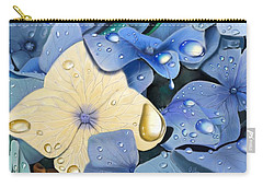Blue Hydrangeas Carry-all Pouch