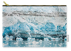 Blue Ice Carry-all Pouch by Melinda Ledsome