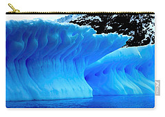 Blue Iceberg Carry-all Pouch