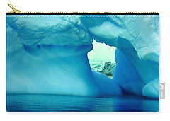 Blue Iceberg Antarctica Carry-all Pouch