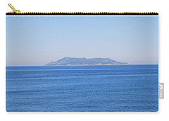 Carry-all Pouch featuring the photograph Blue Ionian Sea by George Katechis
