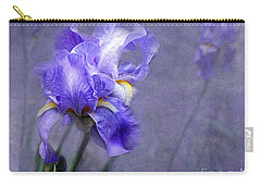 Blue Iris Carry-all Pouch by Lena Auxier