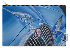 Vintage Blue Jag Carry-all Pouch