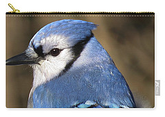 Blue Jay Profile Carry-all Pouch