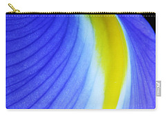 Carry-all Pouch featuring the photograph Blue by Judy Whitton