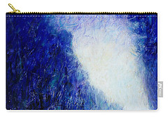 Blue Landscape - Abstract Carry-all Pouch