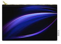 Blue Purple Light Carry-all Pouch
