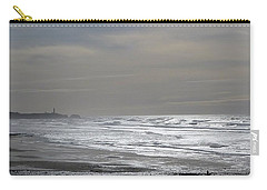 Carry-all Pouch featuring the photograph Blue Lighthouse View by Susan Garren