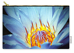 Blue Lotus Carry-all Pouch by Cynthia Guinn