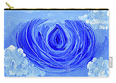 Blue Lotus In The Sky Carry-all Pouch