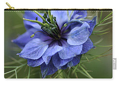 Carry-all Pouch featuring the photograph Blue Love by Joy Watson