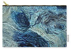 Blue Maze 1 Carry-all Pouch