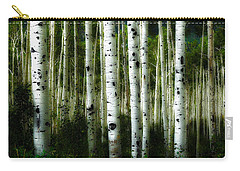 Blue Mood Aspens I Carry-all Pouch