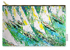 Blue Moon Chicago - Sold Carry-all Pouch by George Riney