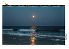 Carry-all Pouch featuring the photograph Blue Moon by Cynthia Guinn