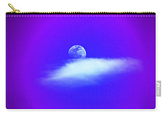Blue Moon Lavender Sky Carry-all Pouch by Susanne Still