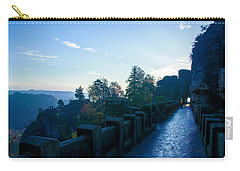 Blue Morning On The Bastei Carry-all Pouch