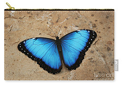 Blue Morpho #2 Carry-all Pouch