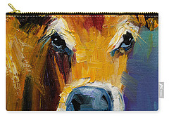 Blue Nose Cow Carry-all Pouch