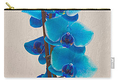 Blue Orchid Carry-all Pouch