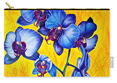 Blue Orchids 1 Carry-all Pouch