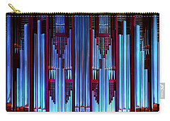 Blue Organ Pipes Carry-all Pouch