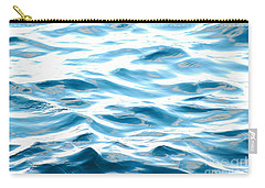 Carry-all Pouch featuring the photograph Blue Pacific Ocean by Lehua Pekelo-Stearns