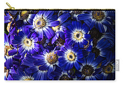 Blue Poem Carry-all Pouch by Edgar Laureano