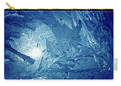 Carry-all Pouch featuring the photograph Blue by Richard Thomas