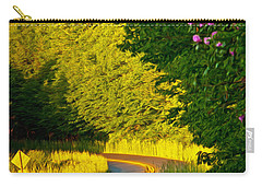Carry-all Pouch featuring the photograph Blue Ridge Afternoon by John Haldane