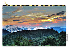 Blue Ridge Mountain Sunrise  Carry-all Pouch