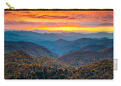 Mountain Sunset Carry-all Pouches