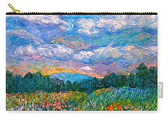 Blue Ridge Wildflowers Carry-all Pouch
