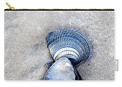 Blue Seashells Carry-all Pouch by Liz Masoner