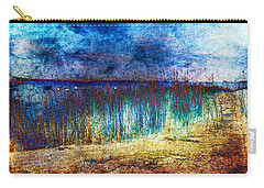 Blue Shore Carry-all Pouch by Randi Grace Nilsberg