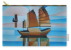 Blue Skies And Cerulean Seas Carry-all Pouch