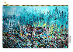 Blue Skies Chicago - Sold Carry-all Pouch by George Riney
