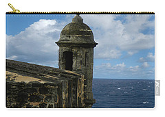 Blue Skies On The Horizon Carry-all Pouch