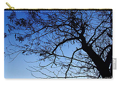 Carry-all Pouch featuring the photograph Blue Sky by Andrea Anderegg