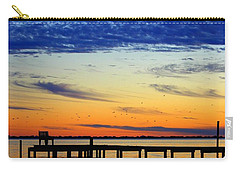 Blue Sky Carry-all Pouch by Faith Williams