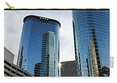 Blue Skyscrapers Carry-all Pouch